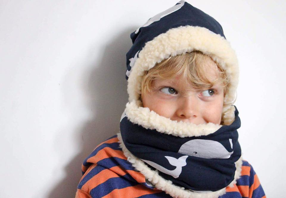 Winter Warmers Hat & Snood Sewing Pattern PDF - SPARKLE AND ROAR ...